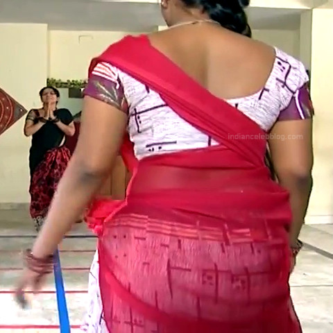 Neepa tamil tv actress PonDTS1 9 hot saree photo