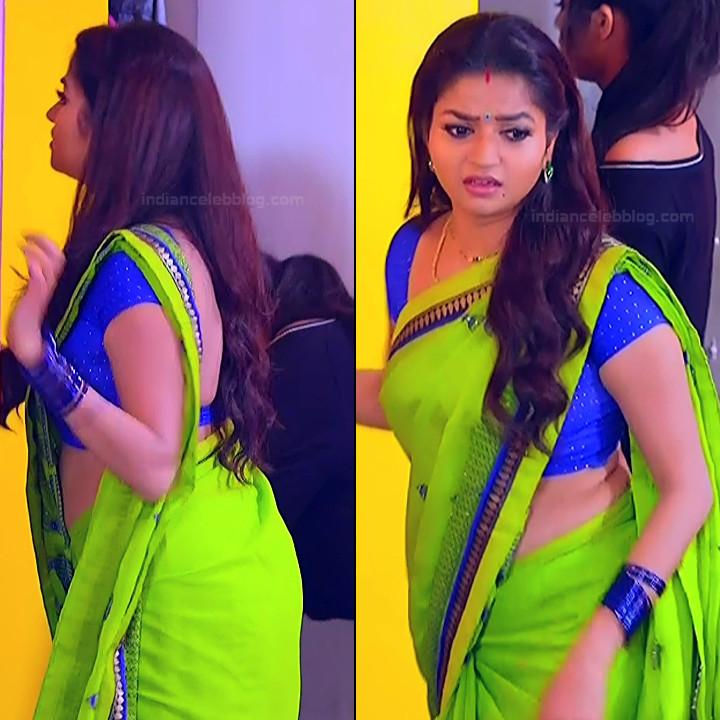 Nithya ram Tamil tv actress Nandhini S1 9 hot sari pics