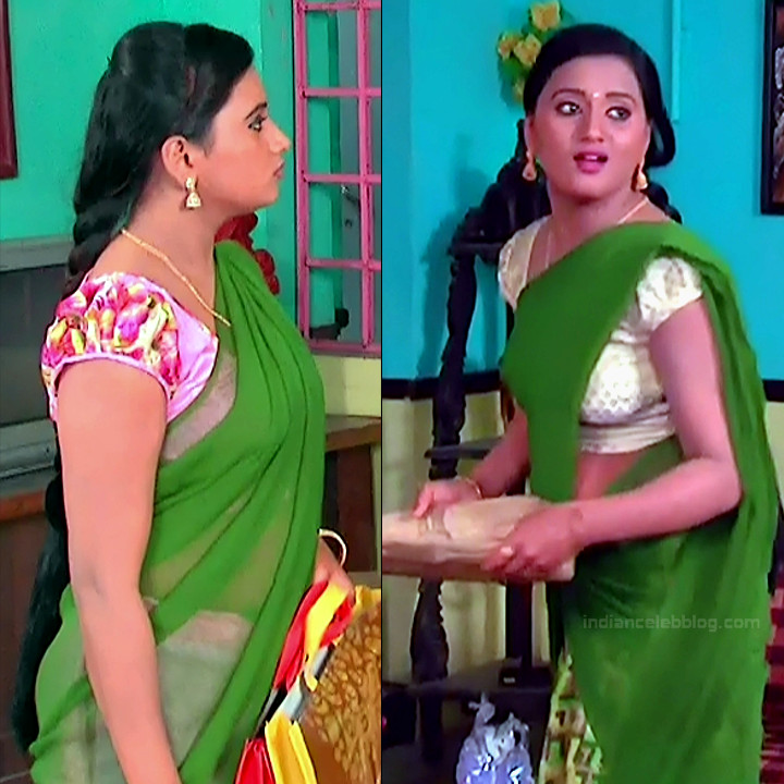 Princy B Krishnan aka Amrutha Telugu Tv actress Kumkuma PS2 2 hot saree pics