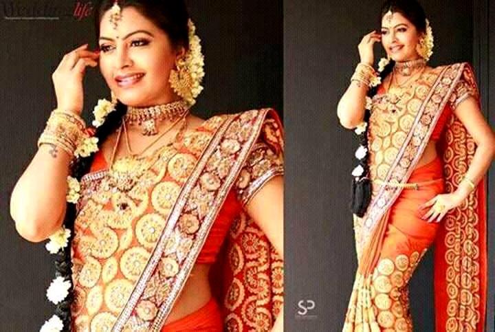 Rachitha Mahalakshmi Tamil TV actress CTS1 11 hot saree pics