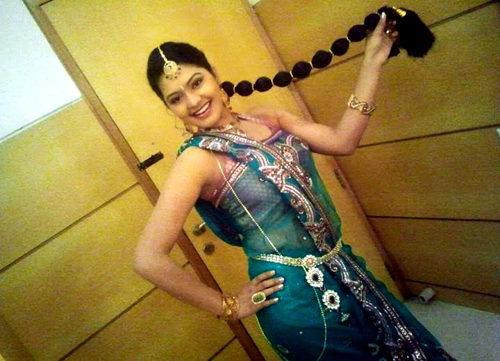 Rachitha Mahalakshmi Tamil TV actress CTS1 17 hot saree photo