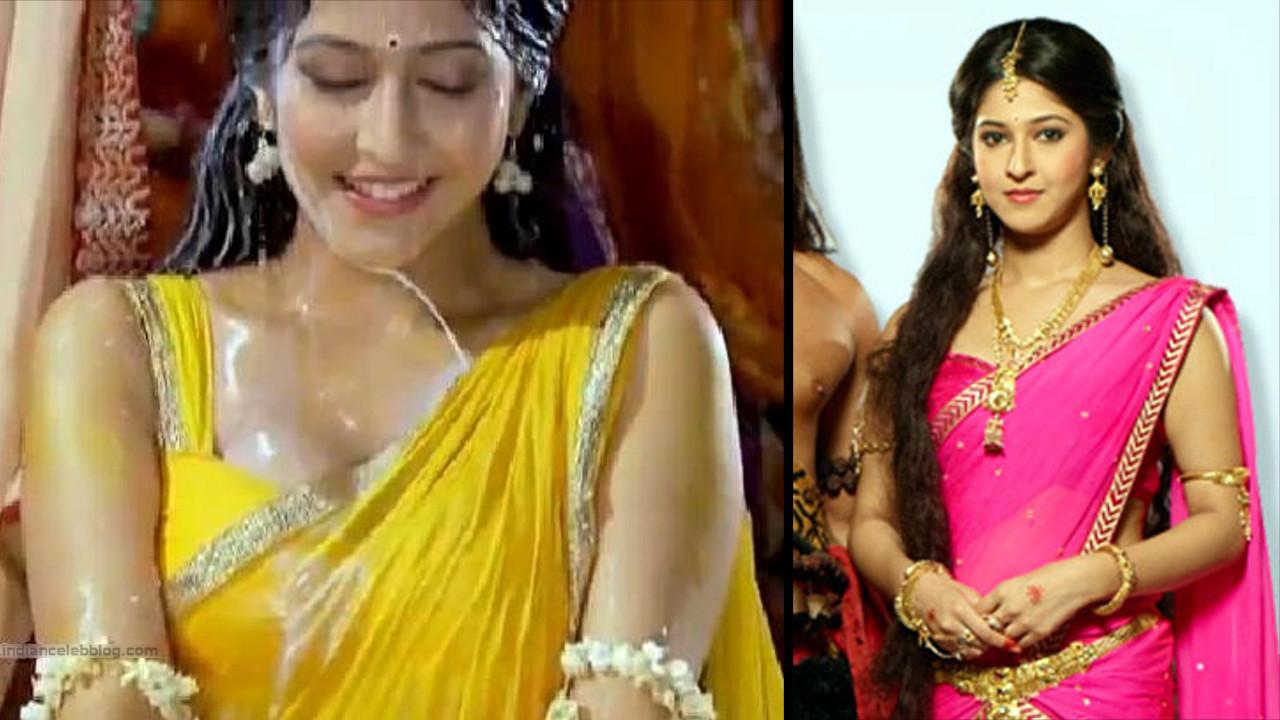 Sonarika Bhadoria Tv actress Devon ke dev CTS1_21_Hot Saree pics