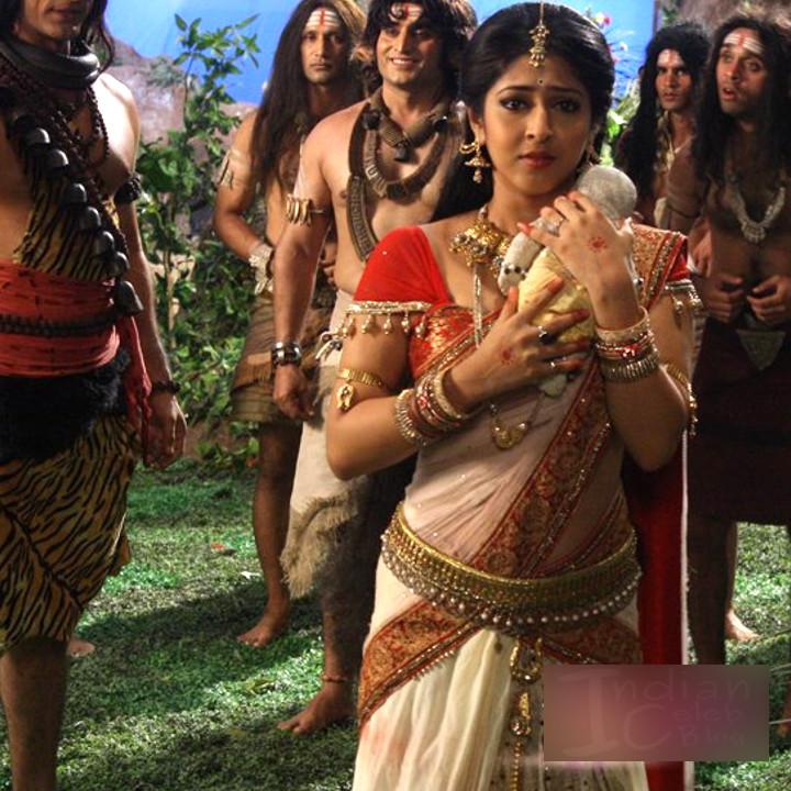 Sonarika Bhadoria Tv actress Devon ke dev CTS1_3_Saree photo