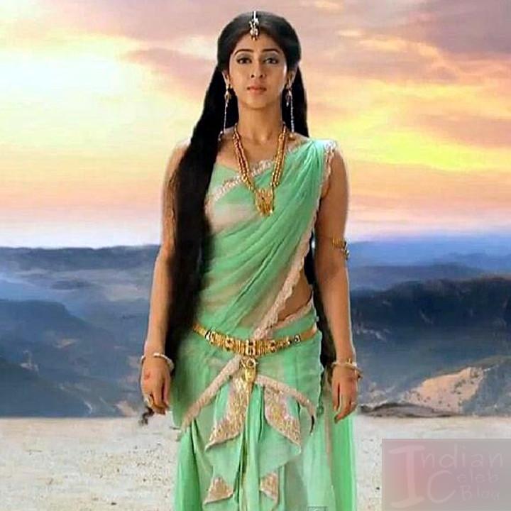 Sonarika Bhadoria Tv actress Devon ke mahadev CTS1_12_Saree photo