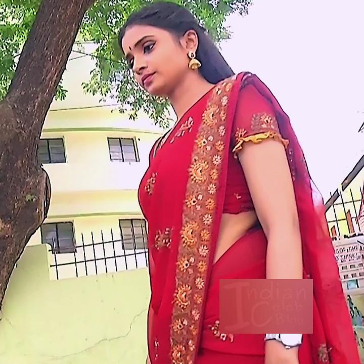 Varshini tamil tv actress sumangali S1 11 hot saree pics