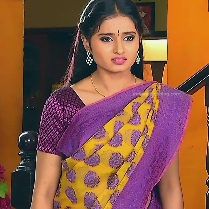 Varshini tamil tv actress sumangali S1 17 hot saree photo