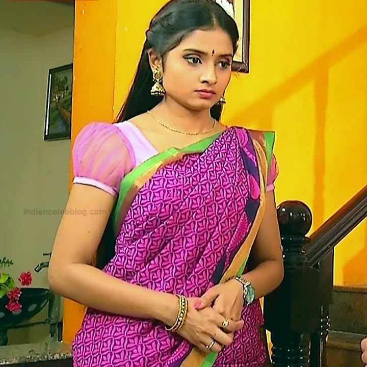 Varshini tamil tv actress sumangali S1 3 hot sari photo