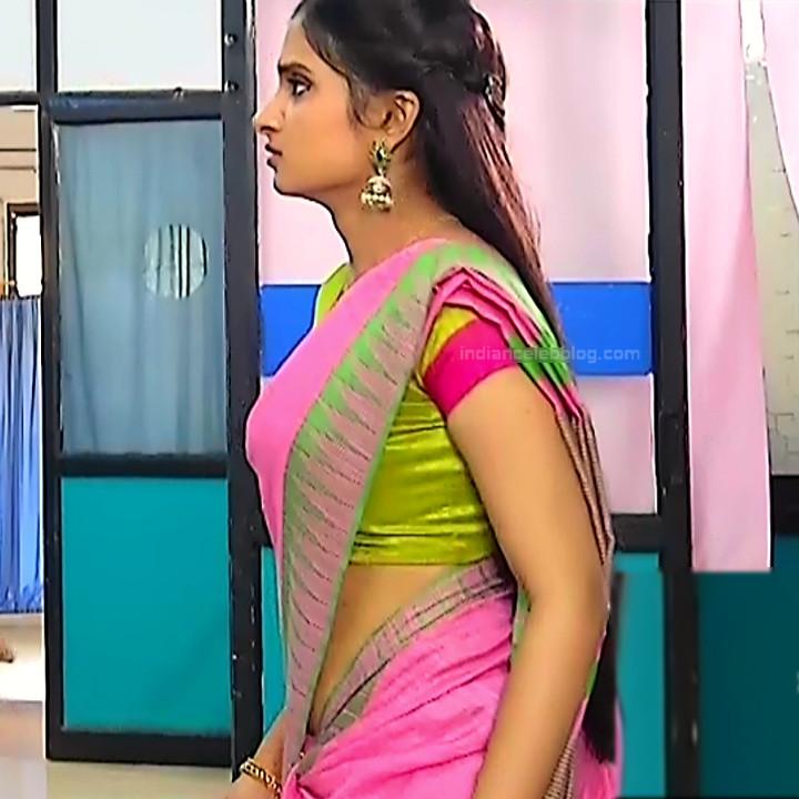 Varshini tamil tv actress sumangali S1 4 hot sari caps