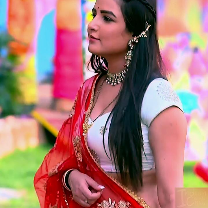 Jasmin Bhasin hindi serial actress Dil SDTS1 11 hot lehenga photo