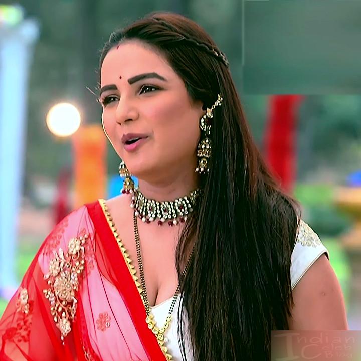 Jasmin Bhasin hindi serial actress Dil SDTS1 7 hot lehenga caps