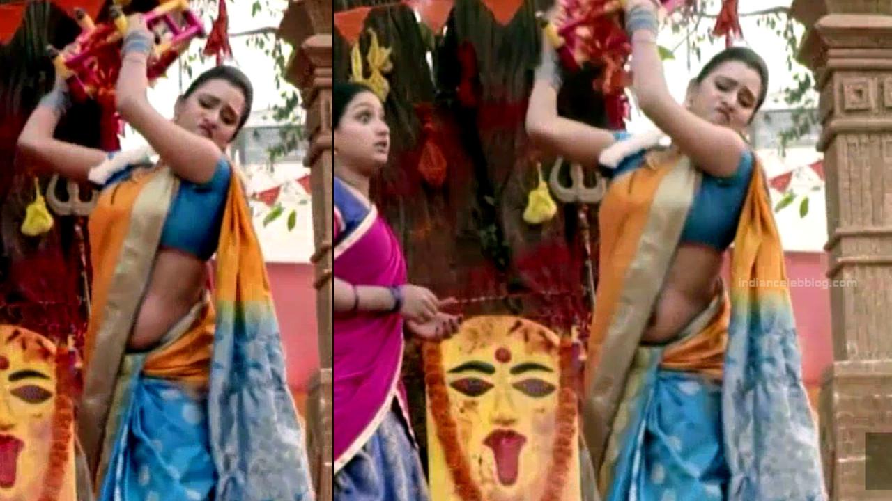 Priyanka Kannada TV actress Agnisakshi S114 hot saree pics